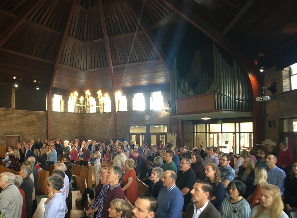 Congregation at St Mark's