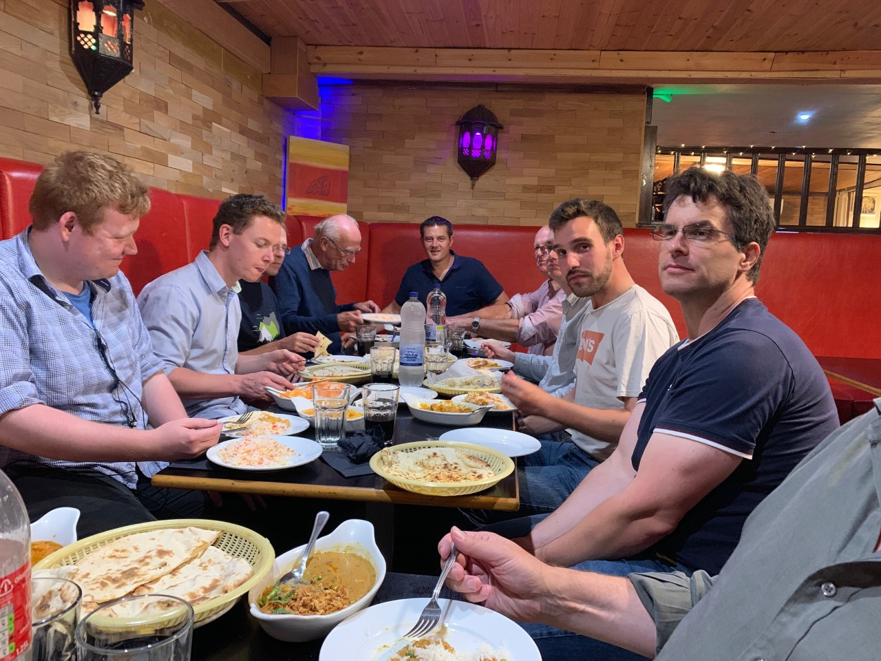 Curry Night August 2019