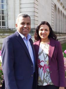 Rev. David Bhakiaraj & and Liz